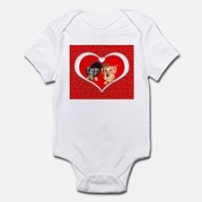Love Dachshund Dogs Infant Bodysuit