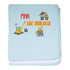 Finn the Builder Infant Blanket