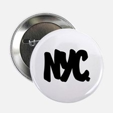 """NYC Brushed 2.25"""" Button"""