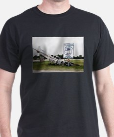 Sky Dive Texas Black T-Shirt