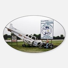 Sky Dive Texas Oval Decal