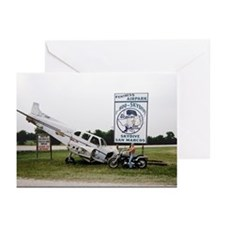 Sky Dive Texas Greeting Cards (Pk of 10)