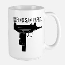 "Large ""Defend San Rafael"" Mug"