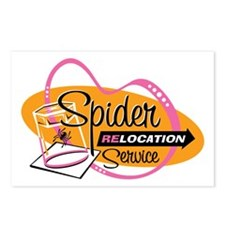 Spider Relocation Service Postcards (Package of 8)