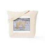 Polar Bear Photo Tote Bag