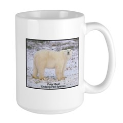 Polar Bear Photo Mug