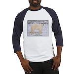 Polar Bear Photo (Front) Baseball Jersey