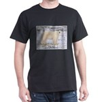 Polar Bear Photo (Front) Black T-Shirt