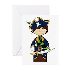 Cute Pirate Boy Card (Pk of 20)