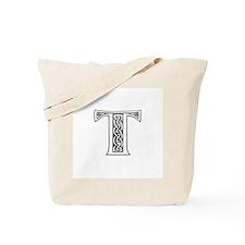 T Monogram Tote Bag