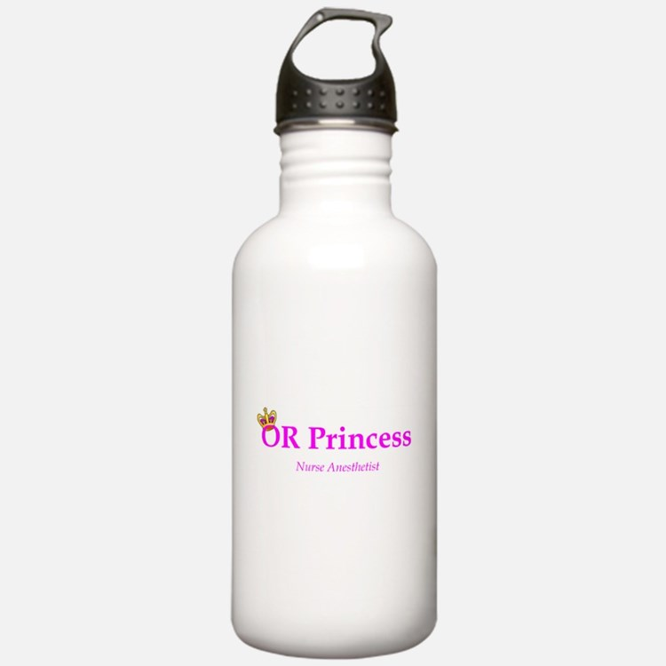 OR Princess CRNA Water Bottle