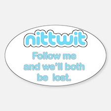 Nittwit - Follow Me Decal