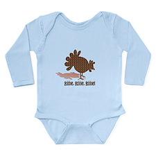 Thanksgiving Day Gobble Long Sleeve Infant Bodysui