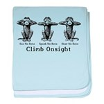 Climb Onsight baby blanket
