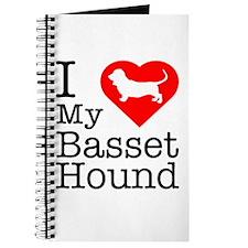 I Love My Basset Hound Journal
