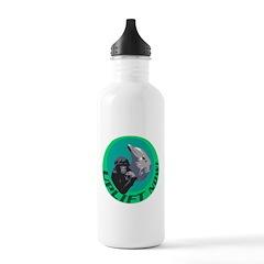 Earth Uplift Center Plea Water Bottle