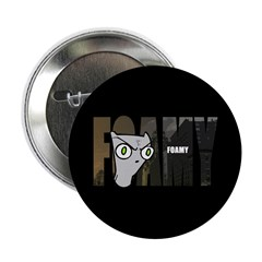 "Foamy (Name Design) 2.25"" Button"