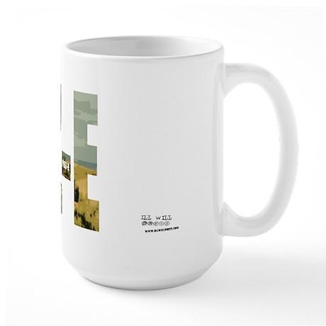 Pilz-E (Name Design) Large Mug