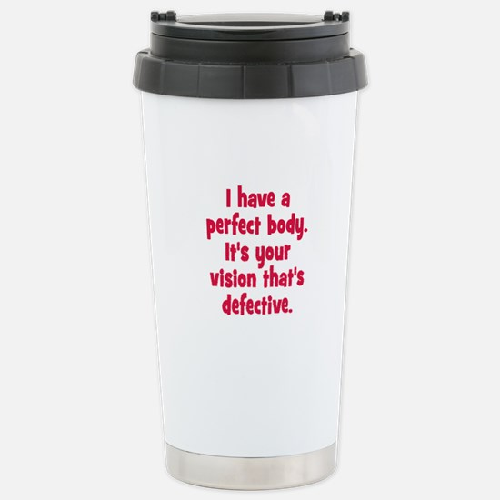 Perfect Body Stainless Steel Travel Mug