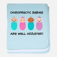 Chiropractic Babies Infant Blanket
