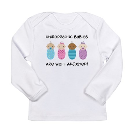 Chiropractic Babies Long Sleeve Infant T-Shirt