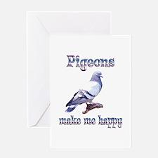 Pigeon Greeting Card