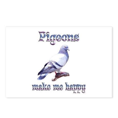 Pigeon Postcards (Package of 8)