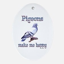 Pigeon Ornament (Oval)