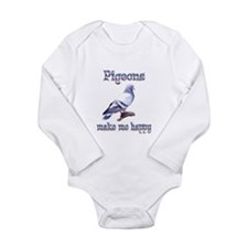 Pigeon Long Sleeve Infant Bodysuit