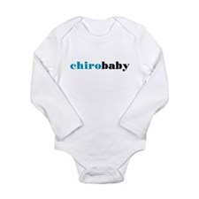 Chiro Baby - Blue Long Sleeve Infant Bodysuit