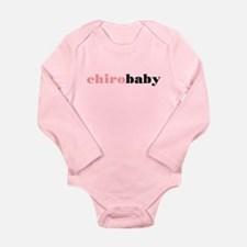 Chiro Baby - Pink Long Sleeve Infant Bodysuit
