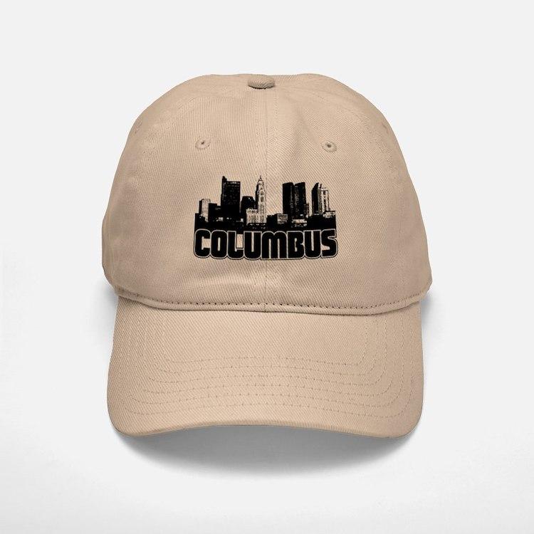 Columbus Skyline Baseball Baseball Cap