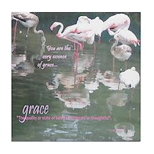 Appreciation: Your Grace Tile Coaster