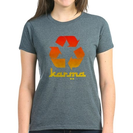 Recycle KARMA Women's Dark T-Shirt