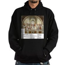 School of Athens Who is Who Hoodie