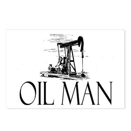 Oil Man Postcards (Package of 8)