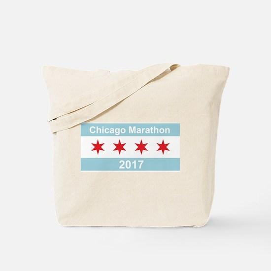 2017 Chicago Marathon Tote Bag
