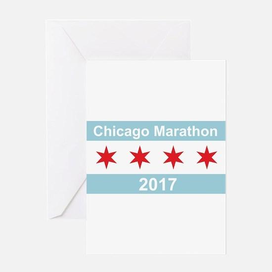 2017 Chicago Marathon Greeting Card