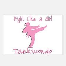 Taekwondo Postcards (Package of 8)