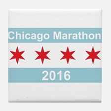 2016 Chicago Marathon Tile Coaster