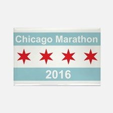 2016 Chicago Marathon Rectangle Magnet