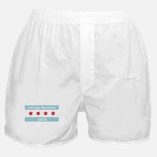 2016 Chicago Marathon Boxer Shorts