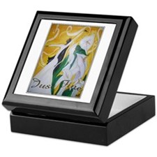 Ebony Elegance Custom Keepsake Box