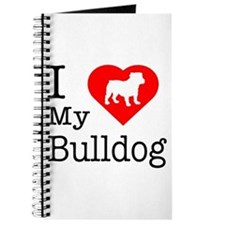 I Love My Bulldog Journal