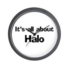 It's all about Halo Wall Clock