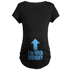 I'm With Mommy Blue T-Shirt
