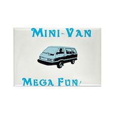 Mini Van Rectangle Magnet