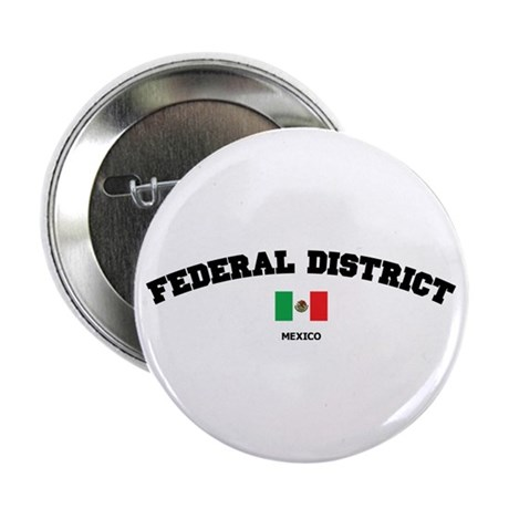 """Federal District 2.25"""" Button"""