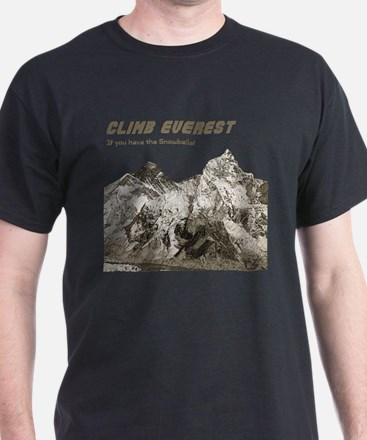 Climb Everest-If you have the T-Shirt