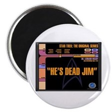 He's Dead Jim Magnet